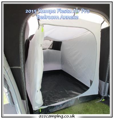 2018 Kampa Fiesta Air Pro Bedroom Extension Annexe